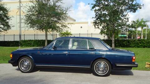1988 Rolls-Royce Silver Spur for sale at Premier Luxury Cars in Oakland Park FL