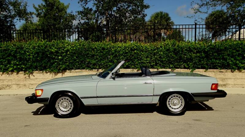 1979 Mercedes-Benz 450 SL for sale at Premier Luxury Cars in Oakland Park FL