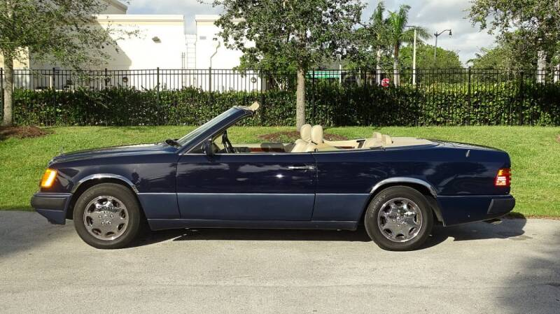 1993 Mercedes-Benz 300-Class for sale at Premier Luxury Cars in Oakland Park FL