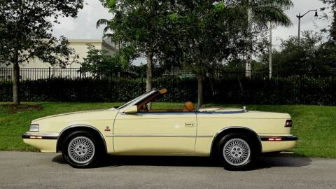 1989 Chrysler TC for sale at Premier Luxury Cars in Oakland Park FL