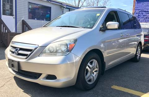 2007 Honda Odyssey for sale at Metro Auto Sales in Lawrence MA