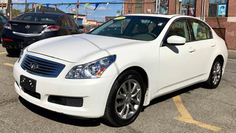 2009 Infiniti G37 Sedan for sale at Metro Auto Sales in Lawrence MA