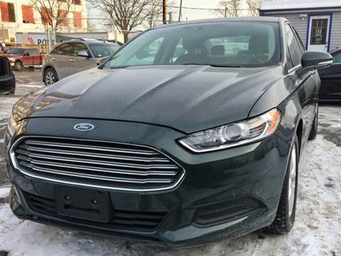 2015 Ford Fusion for sale at Metro Auto Sales in Lawrence MA