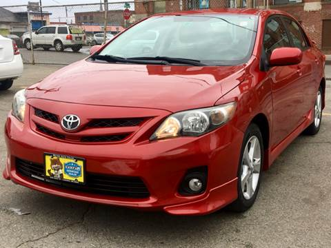 2011 Toyota Corolla for sale at Metro Auto Sales in Lawrence MA