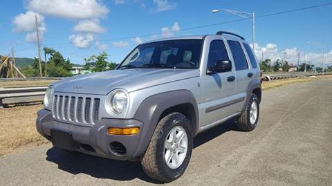 2004 Jeep Liberty for sale at Cruzan Car Sales in Frederiksted VI