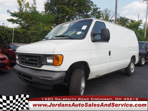 2007 Ford E-Series Cargo for sale in Cincinnati, OH