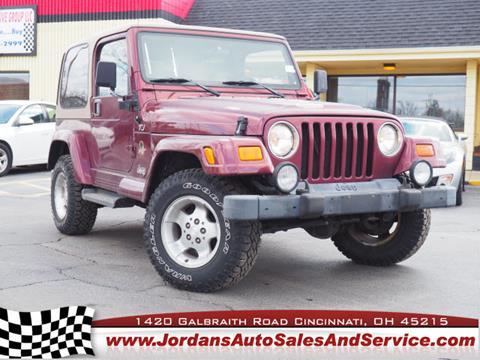 2002 Jeep Wrangler for sale in Cincinnati, OH