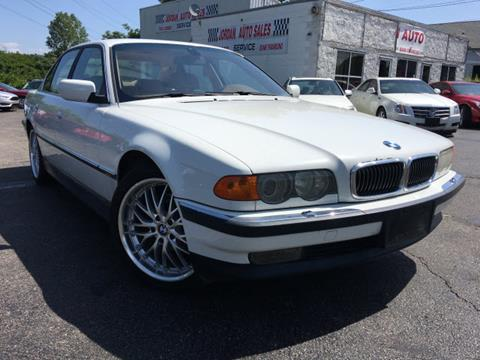 2000 BMW 7 Series For Sale In Montana