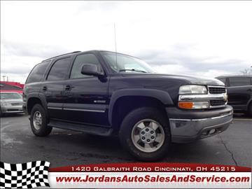 2003 Chevrolet Tahoe for sale in Cincinnati, OH