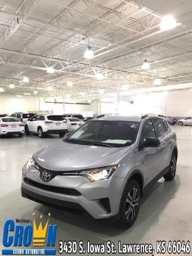 Crown Toyota Lawrence Ks >> Used Toyota RAV4 For Sale in Lawrence, KS - Carsforsale.com®