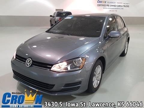 Used Cars Lawrence Ks >> 2016 Volkswagen Golf For Sale In Lawrence Ks