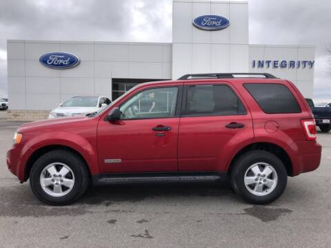 2008 Ford Escape XLT for sale at Integrity Ford Inc in Paulding OH