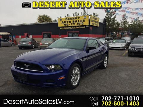 2013 Ford Mustang for sale in Las Vegas, NV