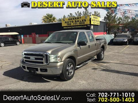 2005 Ford F-250 Super Duty for sale in Las Vegas, NV