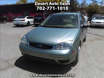 2005 Ford Focus for sale in Las Vegas, NV