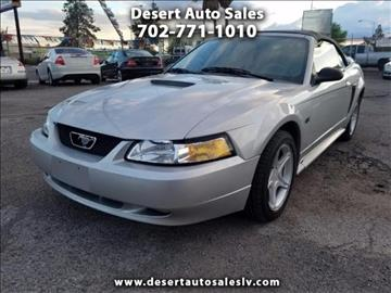 2000 Ford Mustang for sale in Las Vegas, NV