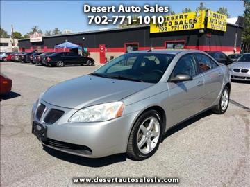 2008 Pontiac G6 for sale in Las Vegas, NV
