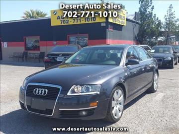2005 Audi A6 for sale in Las Vegas, NV