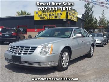 2009 Cadillac DTS for sale in Las Vegas, NV