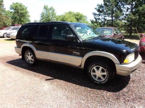 2000 Oldsmobile Bravada for sale in Sturgeon Lake, MN