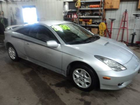 2003 Toyota Celica GT for sale at Sturgeon Auto in Sauk Rapids MN