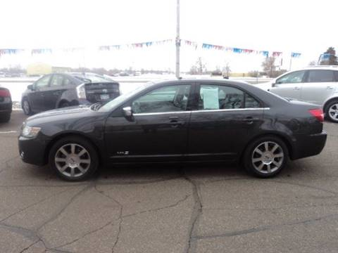 2007 Lincoln MKZ for sale at Sturgeon Auto in Sauk Rapids MN