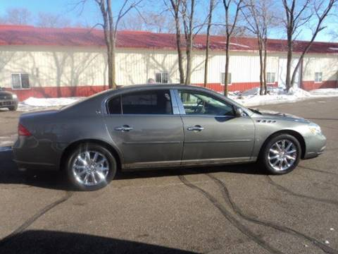 2008 Buick Lucerne CXS for sale at Sturgeon Auto in Sauk Rapids MN