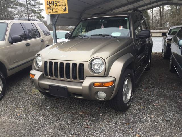 2004 Jeep Liberty Limited 4WD 4dr SUV - Williamston SC