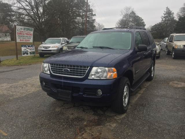 2005 Ford Explorer 4dr XLT 4WD SUV - Williamston SC