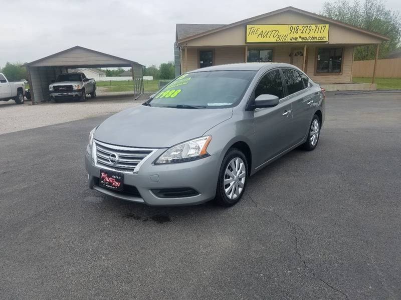 2013 Nissan Sentra For Sale At THE AUTO BIN, LLC In Broken Arrow OK