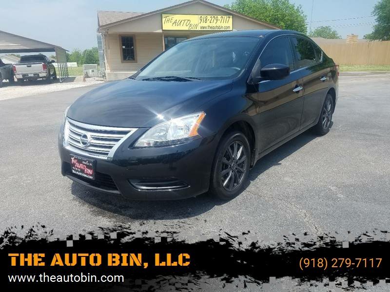 2013 Nissan Sentra For Sale At THE AUTO BIN, LLC In Broken Arrow OK