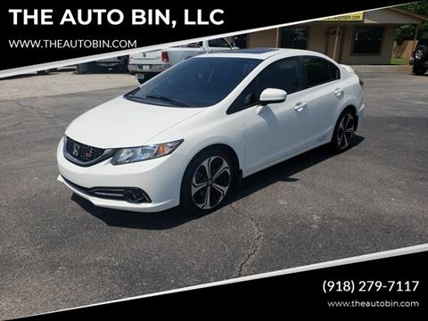 2015 Honda Civic for sale in Broken Arrow, OK