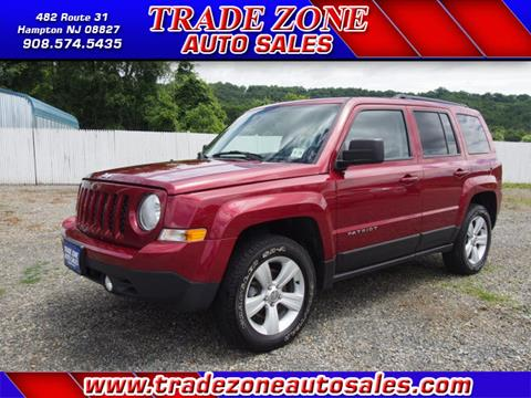2014 Jeep Patriot for sale at Trade Zone Auto Sales in Hampton NJ
