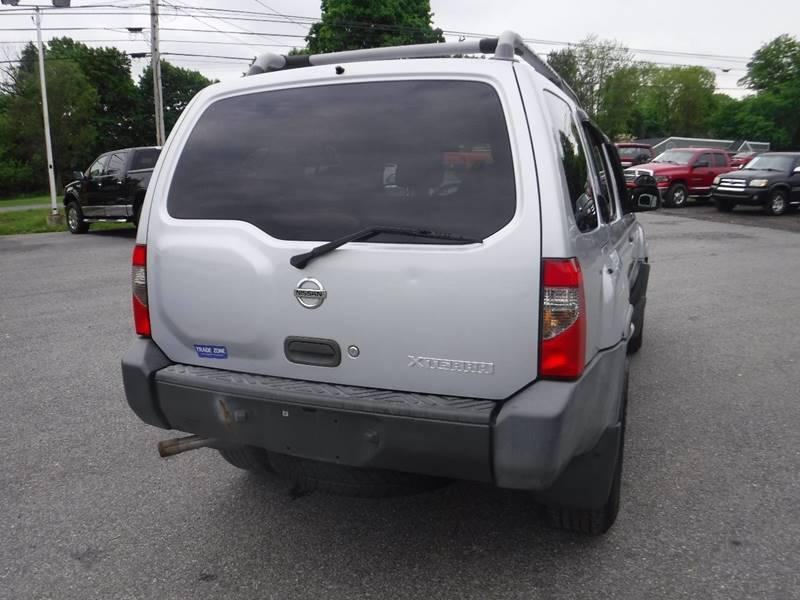 2003 Nissan Xterra Xe 4wd 4dr Suv V6 In Hampton Nj Trade Zone Auto