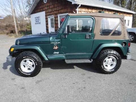 2001 Jeep Wrangler for sale in Hampton, NJ