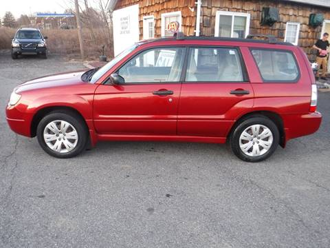 2008 Subaru Forester 2.5 X for sale at Trade Zone Auto Sales in Hampton NJ
