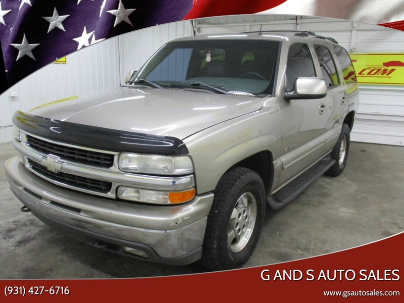 2002 Chevrolet Tahoe LT 2WD 4dr SUV In Ardmore TN - G and S