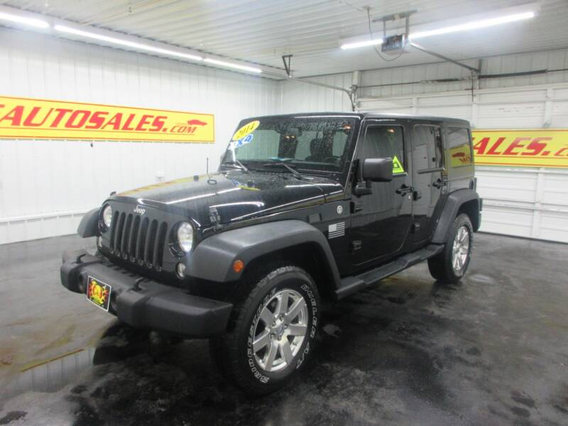 2014 Jeep Wrangler Unlimited 4x4 Sport 4dr SUV - Ardmore TN