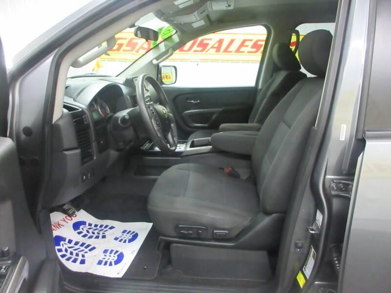 2015 Nissan Titan 4x2 SV 4dr Crew Cab SWB Pickup - Ardmore TN