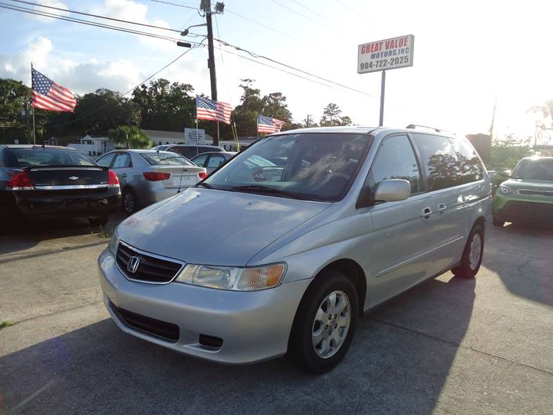 Amazing 2004 Honda Odyssey For Sale At GREAT VALUE MOTORS In Jacksonville FL