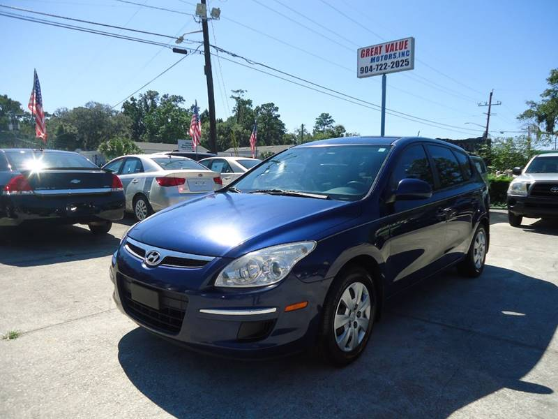2011 Hyundai Elantra Touring For Sale At GREAT VALUE MOTORS In Jacksonville  FL