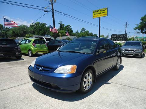 2003 Honda Civic for sale in Jacksonville, FL