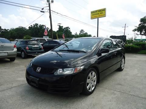 2010 Honda Civic for sale in Jacksonville, FL