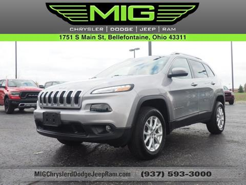 2014 Jeep Cherokee for sale in Bellefontaine, OH