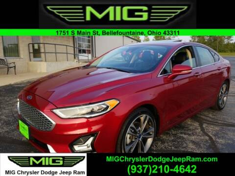 2019 Ford Fusion for sale at MIG Chrysler Dodge Jeep Ram in Bellefontaine OH