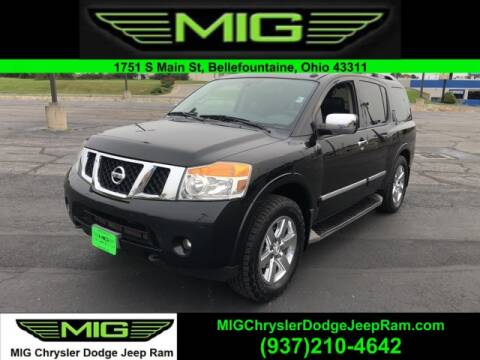 2013 Nissan Armada for sale at MIG Chrysler Dodge Jeep Ram in Bellefontaine OH