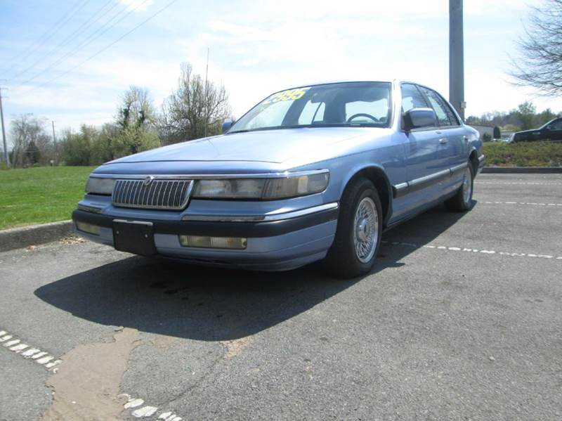 1994 MERCURY GRAND MARQUIS LS 4DR SEDAN blue this is a very luxurious comfortable ridecomforta