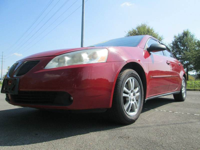 2006 PONTIAC G6 BASE 4DR SEDAN WV6 red absolutely gorgeous red pontiac g6 incredible like new