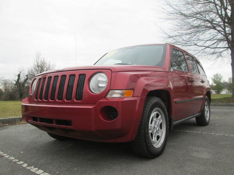 2009 JEEP PATRIOT SPORT 4X4 4DR SUV red awesome looking and super clean 2009 jeep patriot all whe
