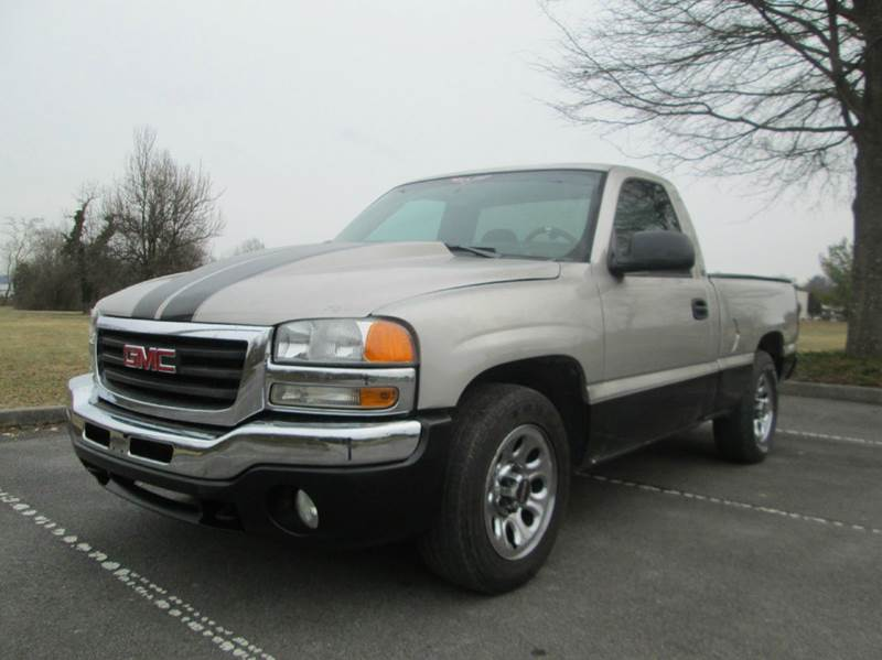 2005 GMC SIERRA 1500 SLE 2DR STANDARD CAB RWD LB gold unbelievably low miles incredible truck